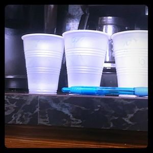 Some cups